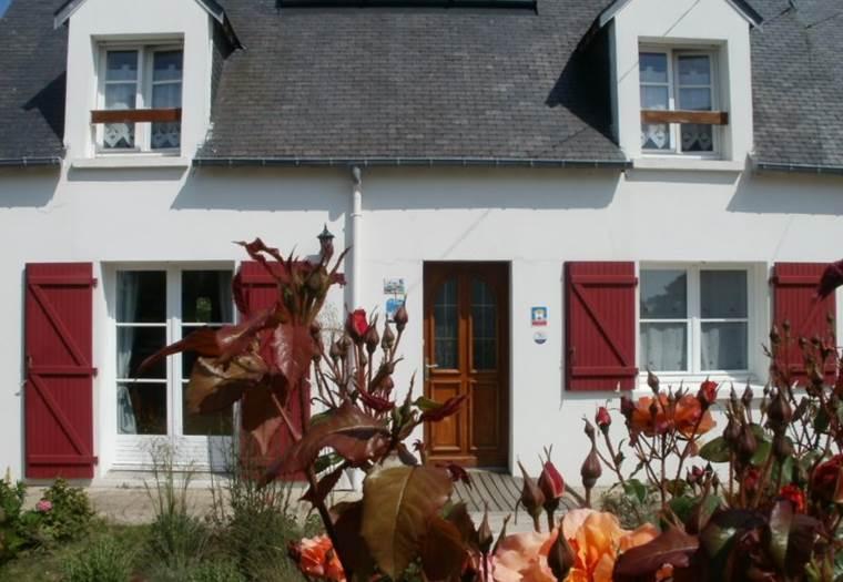 chambre 2 personnes - Riantec - Groix - Lorient - Morbihan - Bretagne sud © Le Squer